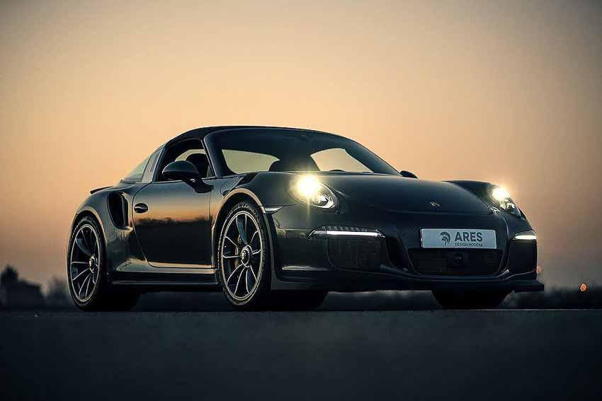 """Mui trần Porsche 911 Targa """"lên gân"""" với sức mạnh của 911 GT3"""