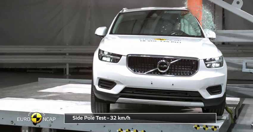 Volvo XC40 mẫu xe an toàn nhất đạt chuẩn Euro NCAP