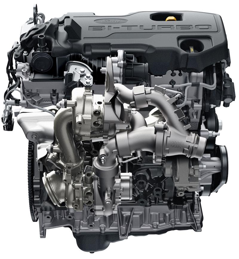 Ford Everest 2018 là động cơ diesel 2.0L