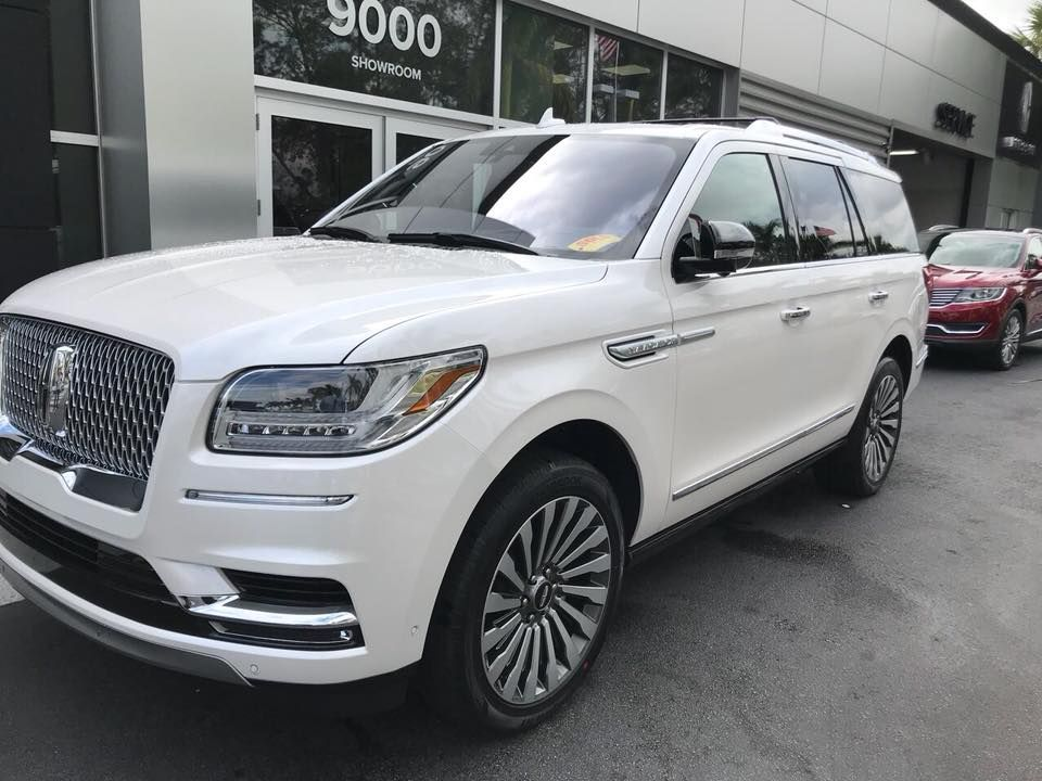 Lincoln Navigator Black Label L 2018