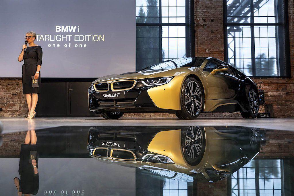 """BMW i3 và i8 Starlight cực sang với """"áo mới"""" bằng vàng 24K"""