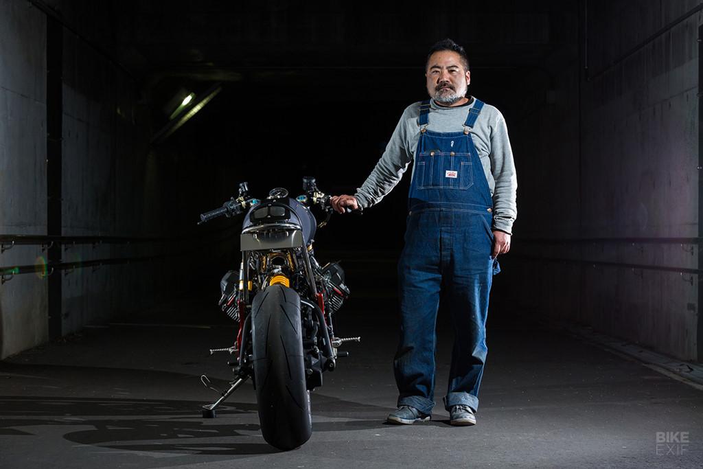 """Moto Guzzi V11 cực hiếm """"lột xác"""" tại Nhật Bản"""