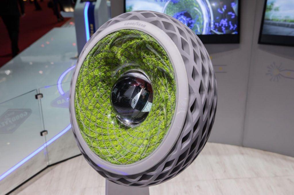Lốp công nghệ Oxygene lọc không khí của Goodyear