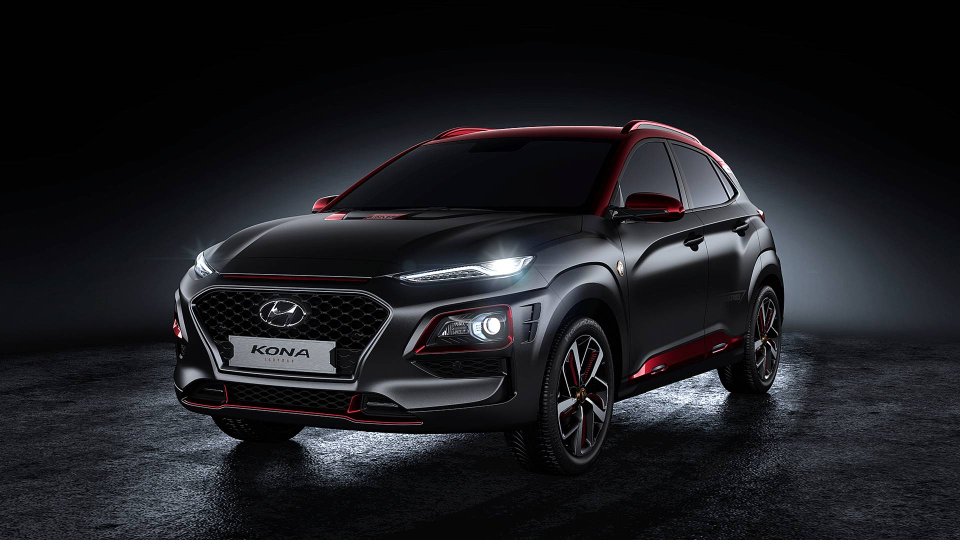 Hyundai Kona Iron Man chính thức được hiện thực hóa