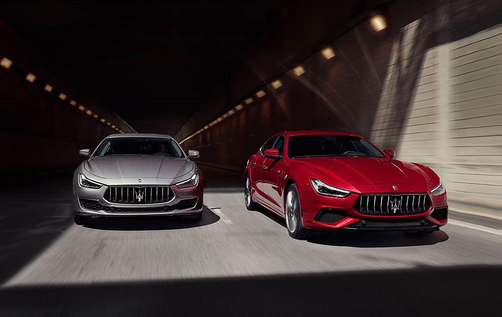 Maserati nâng cấp nhẹ các dòng Ghibli, Quattroporte và Levante 2019