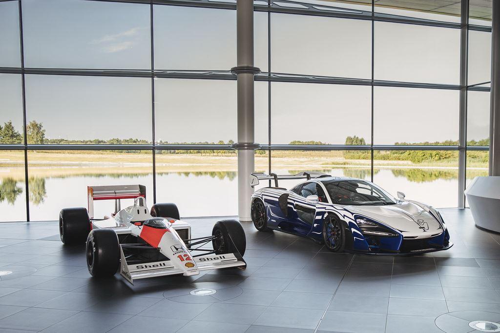Hypercar McLaren Senna đầu tiên diện kiến thế giới