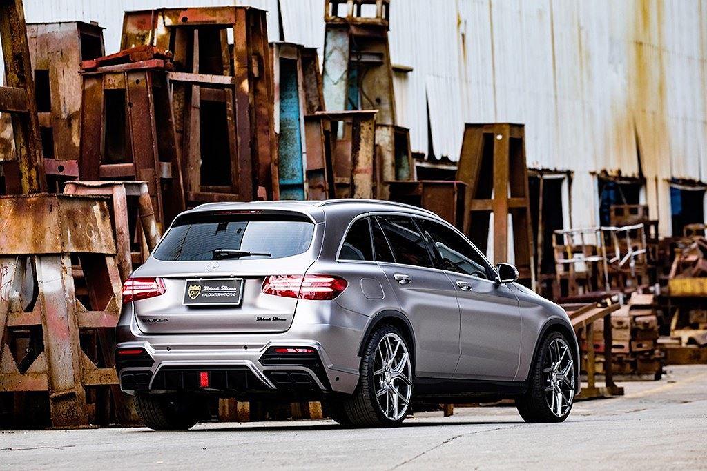 Mercedes GLC mạnh mẽ, ấn tượng hơn với gói bodykit từ Wald International