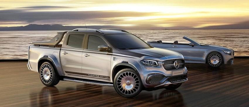 """""""Phiên bản Maybach"""" siêu sang cho bán tải Mercedes-Benz X-Class từ nhà độ Calex Design"""