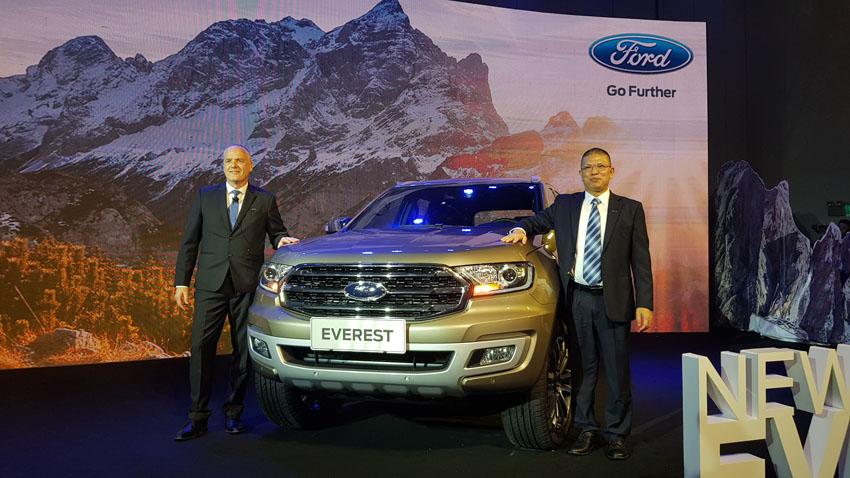 Ford Everest Mới 2018 tại Việt Nam