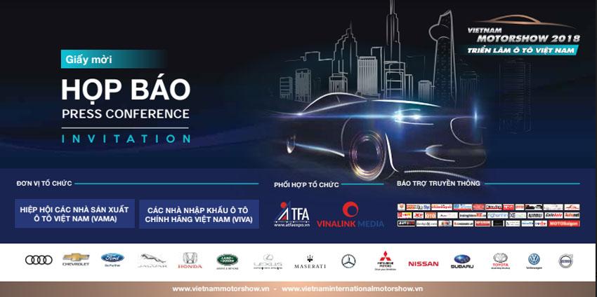 Triển lãm Vietnam Motor Show 2018