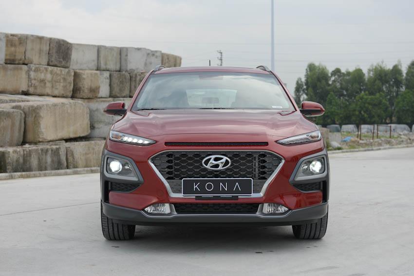 Zoom cận cảnh Hyundai Kona, đối thủ nặng ký của Honda HR-V tại Việt Nam