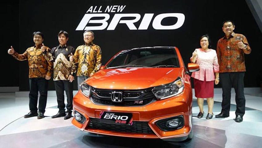 Hatchback hạng A Honda Brio thế hệ mới ra mắt, giá khởi điểm từ 213 triệu