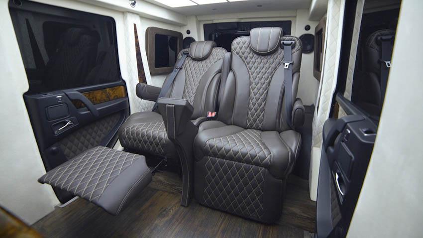 Cận cảnh Limo-SUV chống đạn Mercedes-Benz G63 AMG, giá chạm đỉnh 28 tỉ