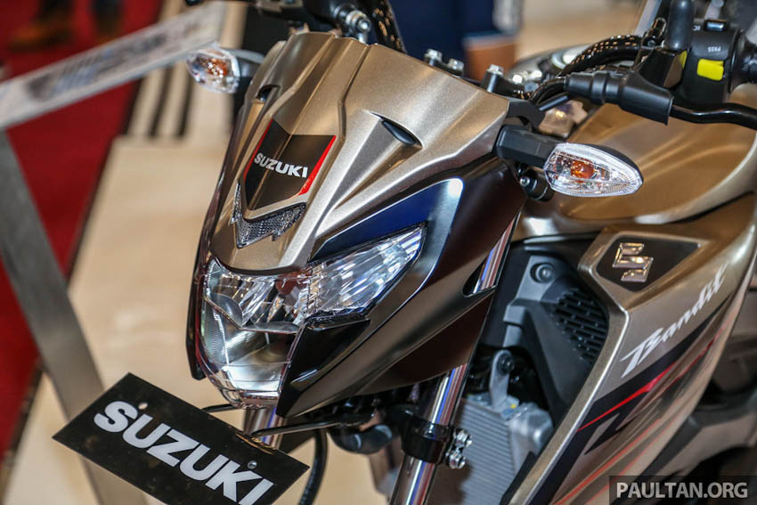 Suzuki GSX-150 Bandit côn tay 150cc ra mắt tại Indonesia