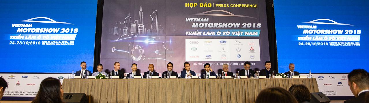 Vietnam Motor Show 2018 - Sự kiện triển lãm ôtô lớn nhất-1