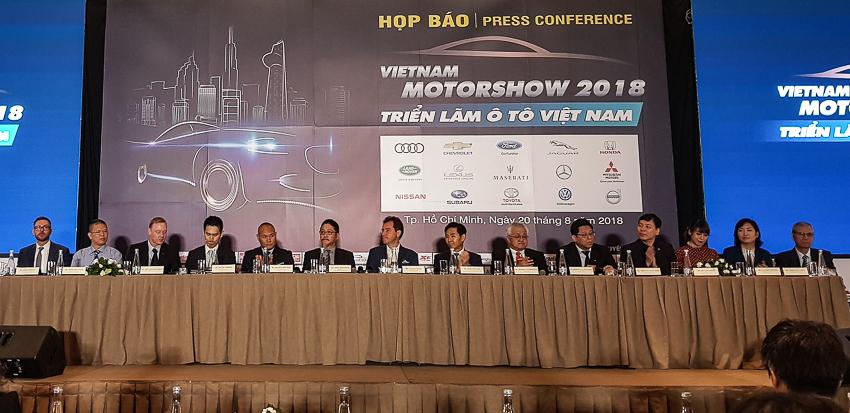 Vietnam Motor Show 2018 - Sự kiện triển lãm ôtô lớn nhất-2