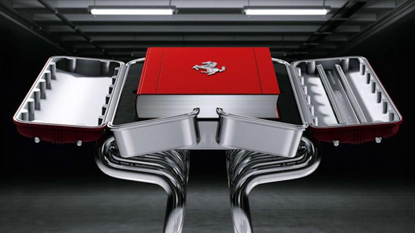 Tác phẩm nghệ thuật sách ảnh của Ferrari