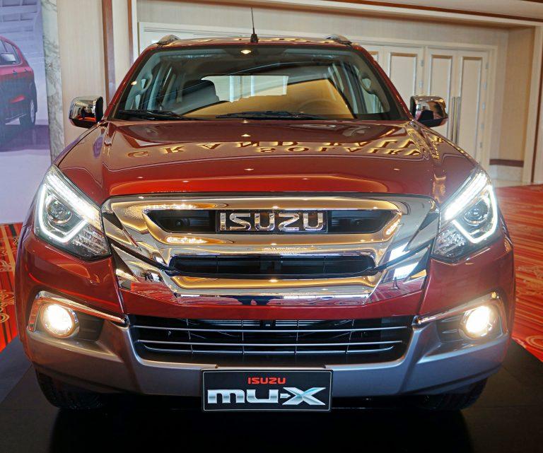 Thiết kế xe Isuzu mu-X có chút thay đổi trong năm nay.