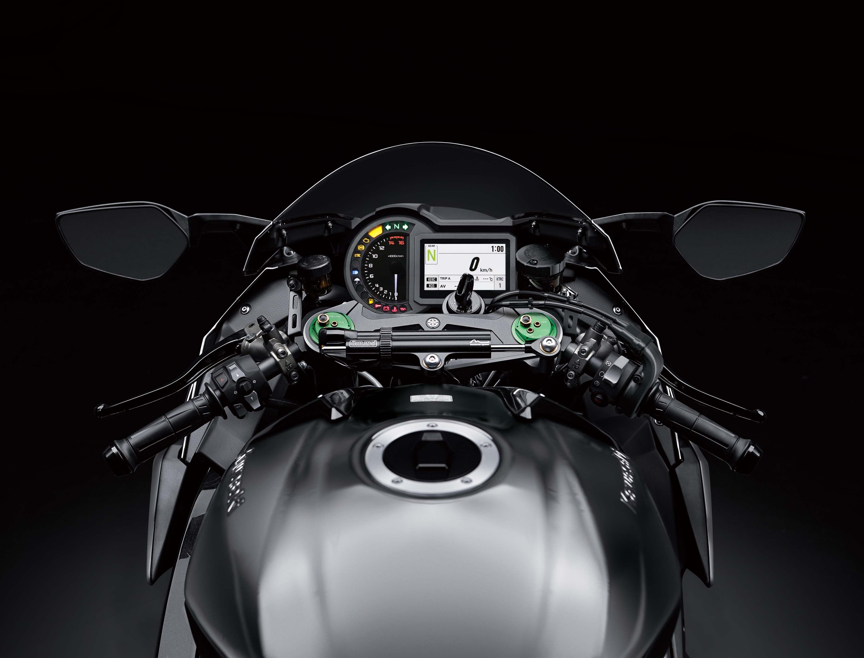 Kawasaki nâng cấp Ninja H2 2019 thành superbike mạnh nhất thế giới