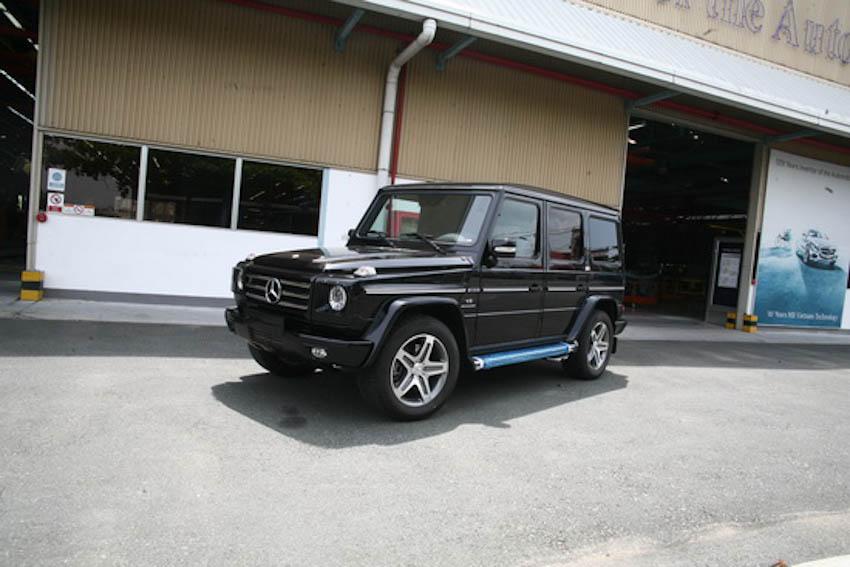 Mercedes-Benz G55 AMG 330.000 USD có gì đặc biệt