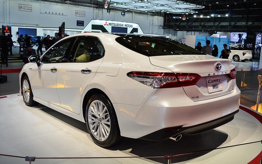 Toyota Camry 2018 thế hệ thứ 8 sắp bung hàng tại Đông Nam Á