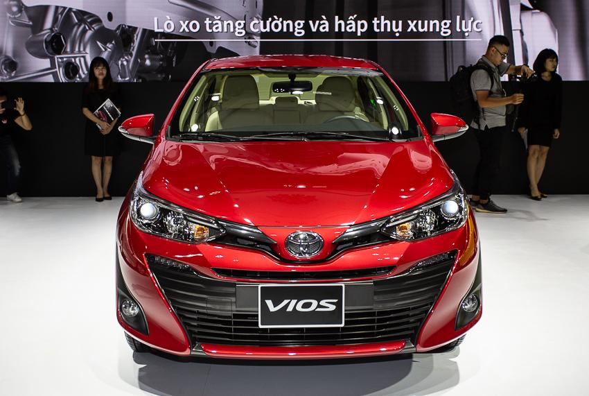 Toyota Vios 2018 được thay đổi nhiều chi tiết trong thiết kế.