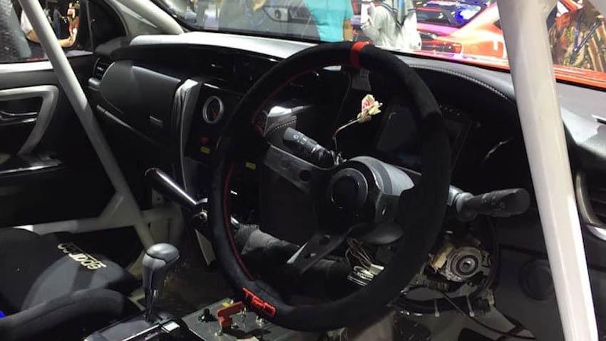Chi tiết bản độ Toyota Fortuner TTI với bodykit hoàn toàn mới