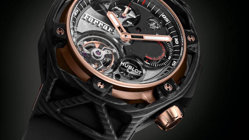 Đồng hồ Hublot Techframe Ferrari Techframe Tourbillon Chronograph