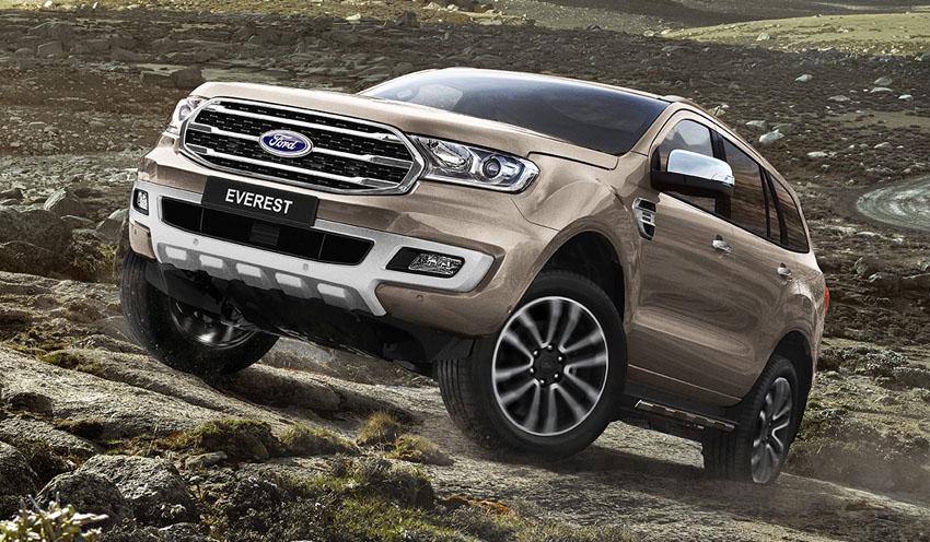 Ford Everest phiên bản mới 2018