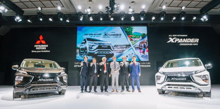 Mẫu xe 7 chỗ Mitsubishi Xpander giá từ 550 triệu đồng-2