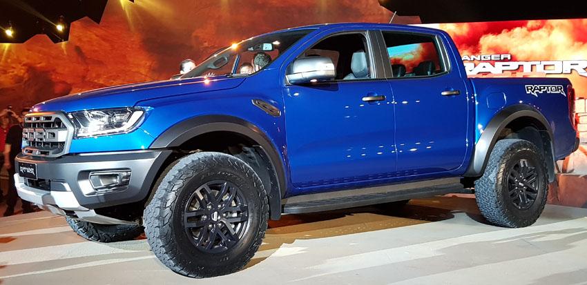 Ford Ranger Raptor tại Việt Nam Motor Show 2018