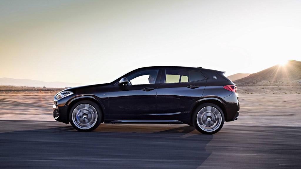 BMW X2 sắp ra mắt Việt Nam lộ diện phiên bản thể thao M35i mới