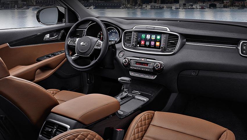 Kia Sorento bản facelift mới nhất sắp cập bến Đông Nam Á
