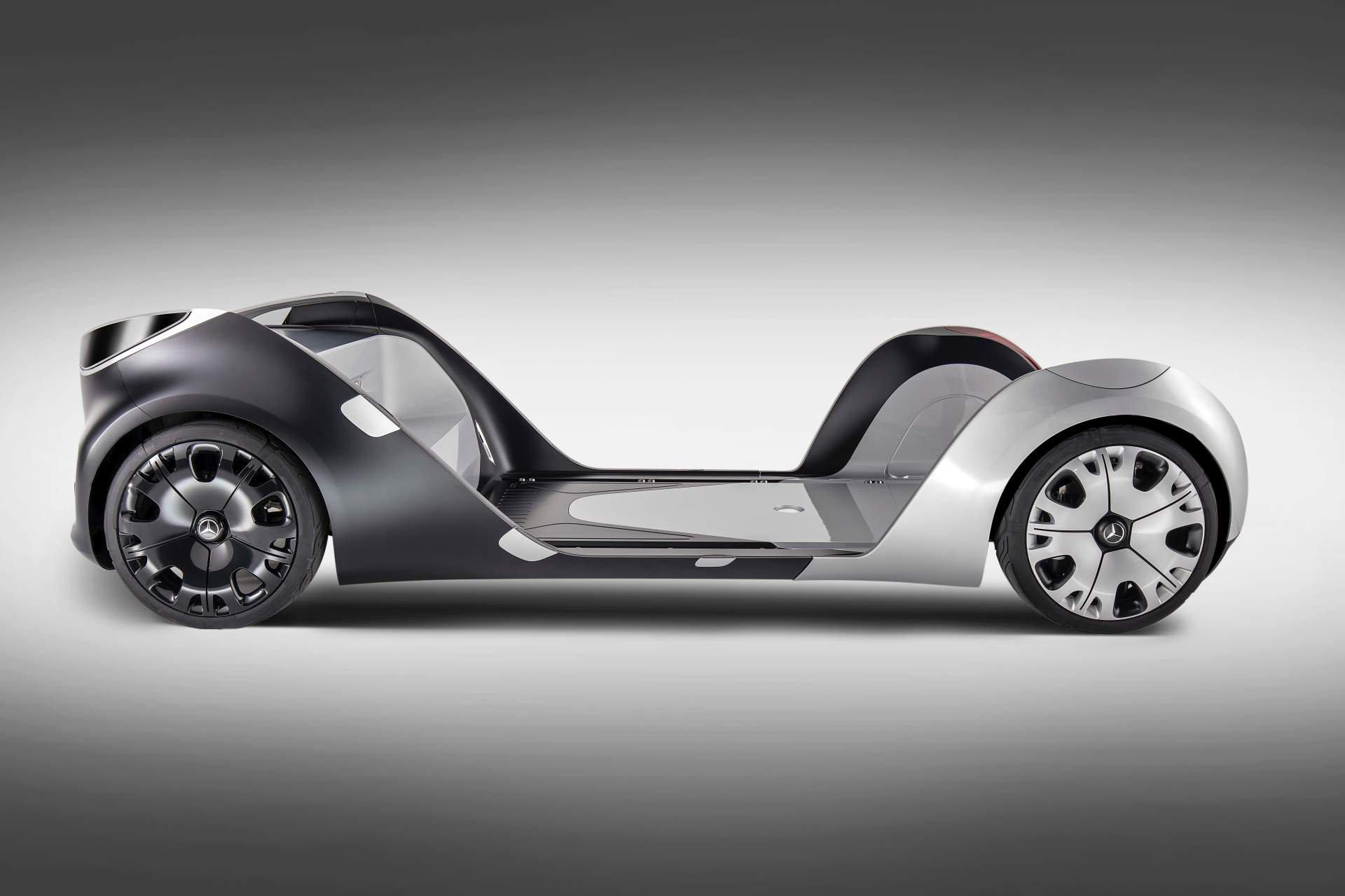 Mercedes-Benz Vans giới thiệu xe điện tự hành đa chức năng: Vision Urbanetic
