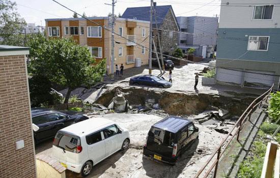 Hokkaido động đất dữ dội, Toyota Nhật Bản tạm ngừng sản xuất xe