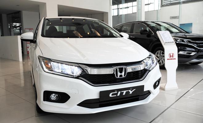 Tháng 8, Honda City và CR-V đem lại doanh số lớn nhất cho Honda Việt Nam