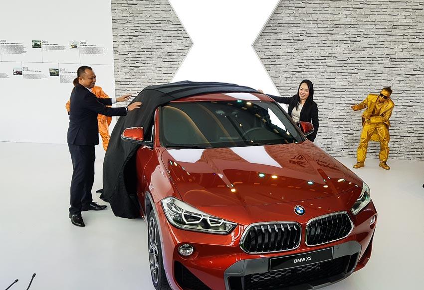 BMW X2 mới ra mắt tại Việt Nam