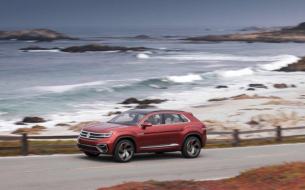 Ấn tượng với bộ đôi SUV Coupe Volkswagen Atlas Cross Sport và bán tải VW Atlas Tanoak