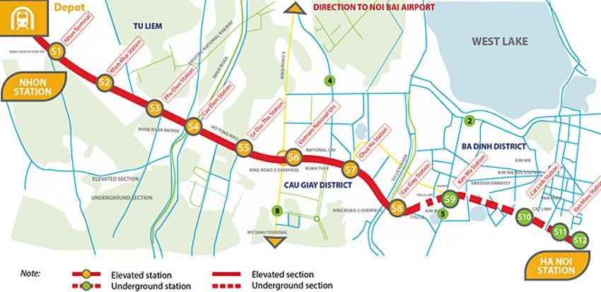 Hà Nội khảo sát ý kiến người dân về thiết kế đoàn tàu metro tuyến số 3