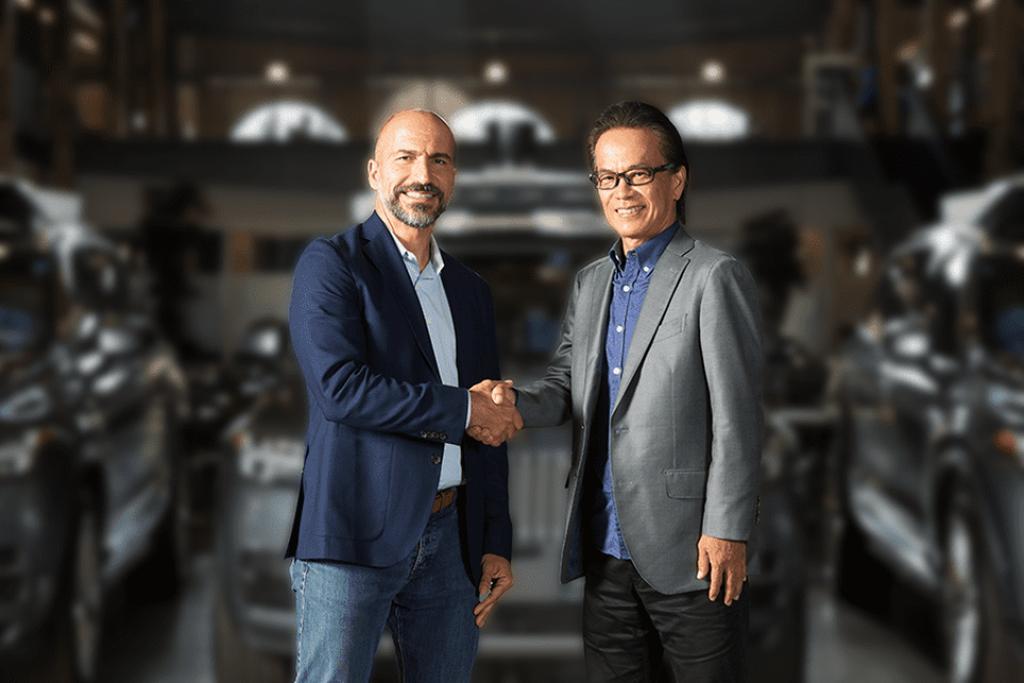 Toyota đầu tư 500 triệu đô, bắt tay với Uber phát triển xe tự lái