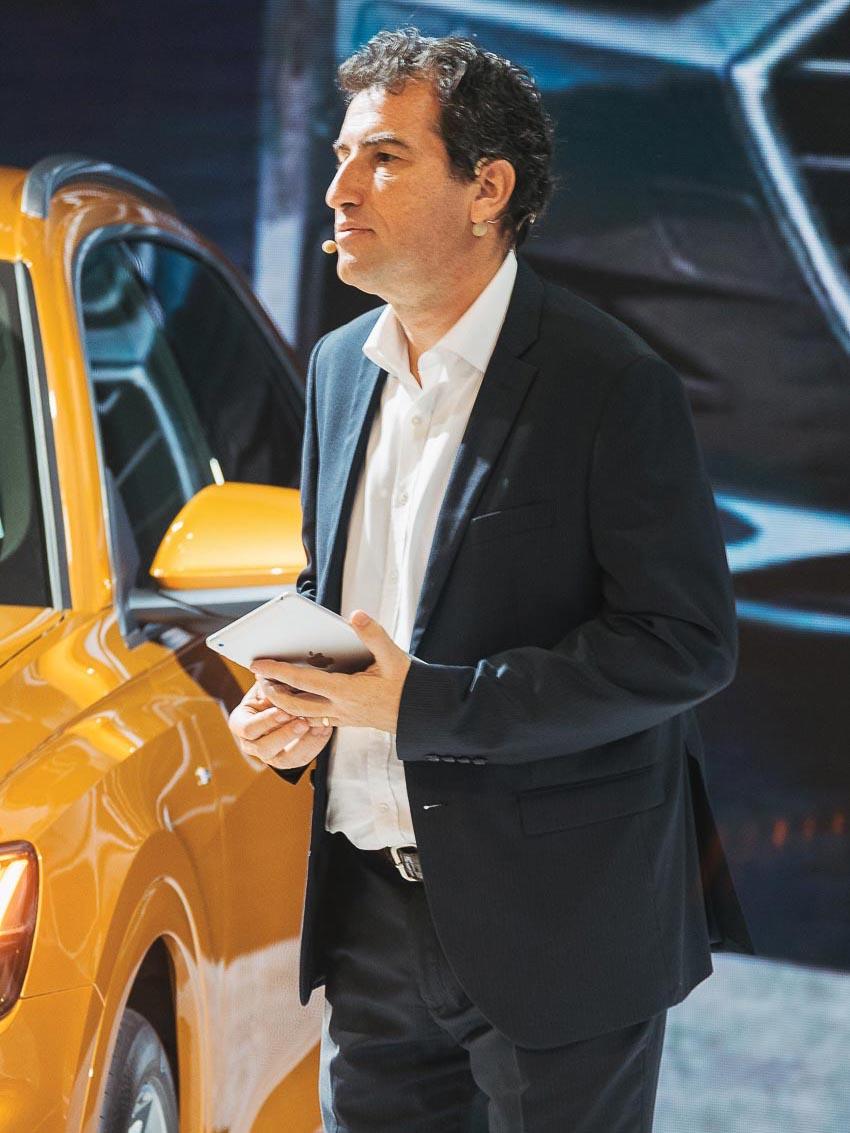 Ông Laurent Genet – Tổng giám đốc Audi Việt Nam