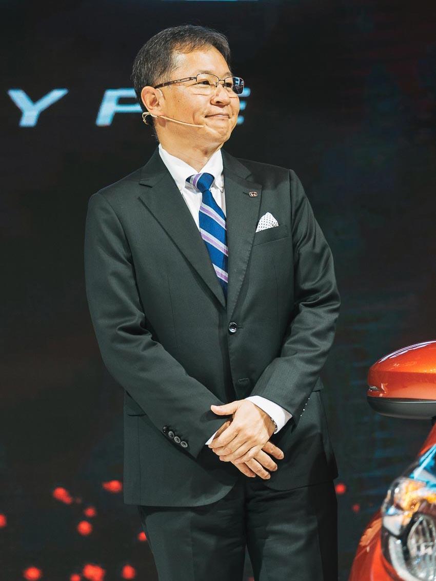 Ông Toshio Kuwahara – Tổng giám đốc Honda Việt Nam
