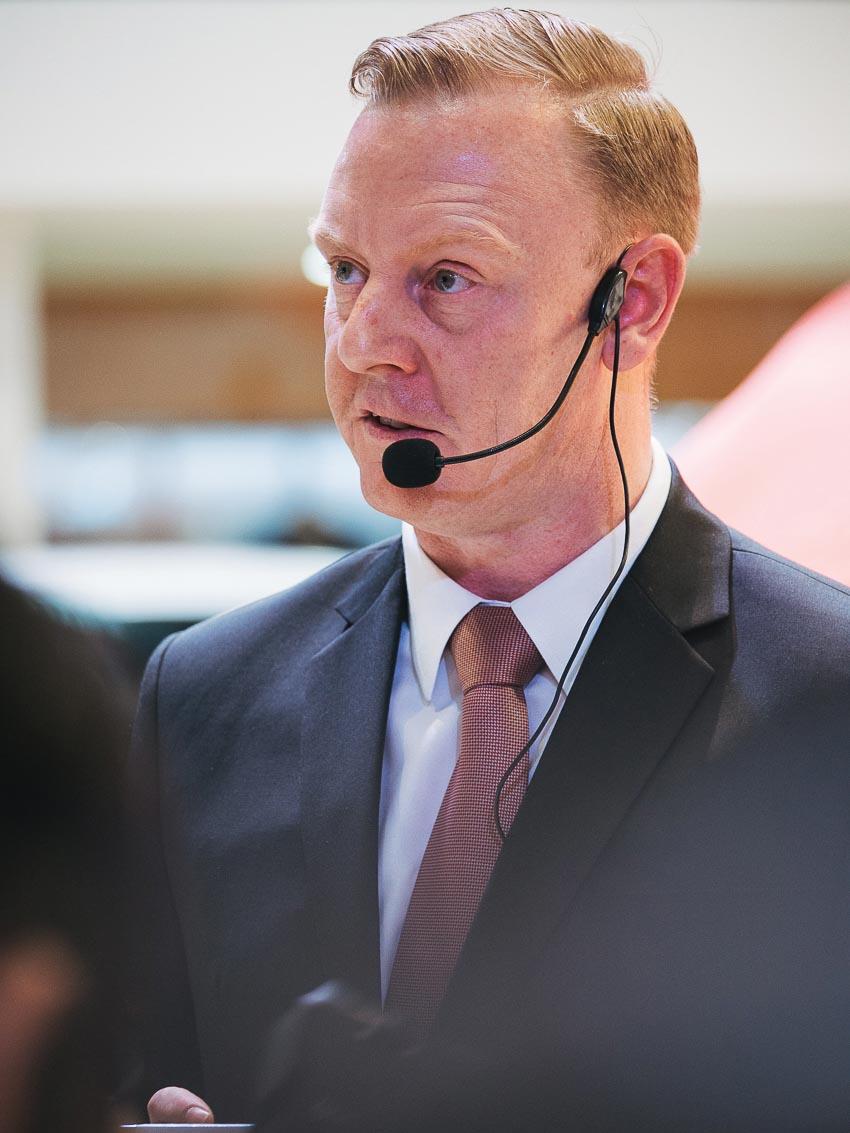 Ông Paul Varley – Giám đốc điều hành Jaguar Land Rover Việt Nam