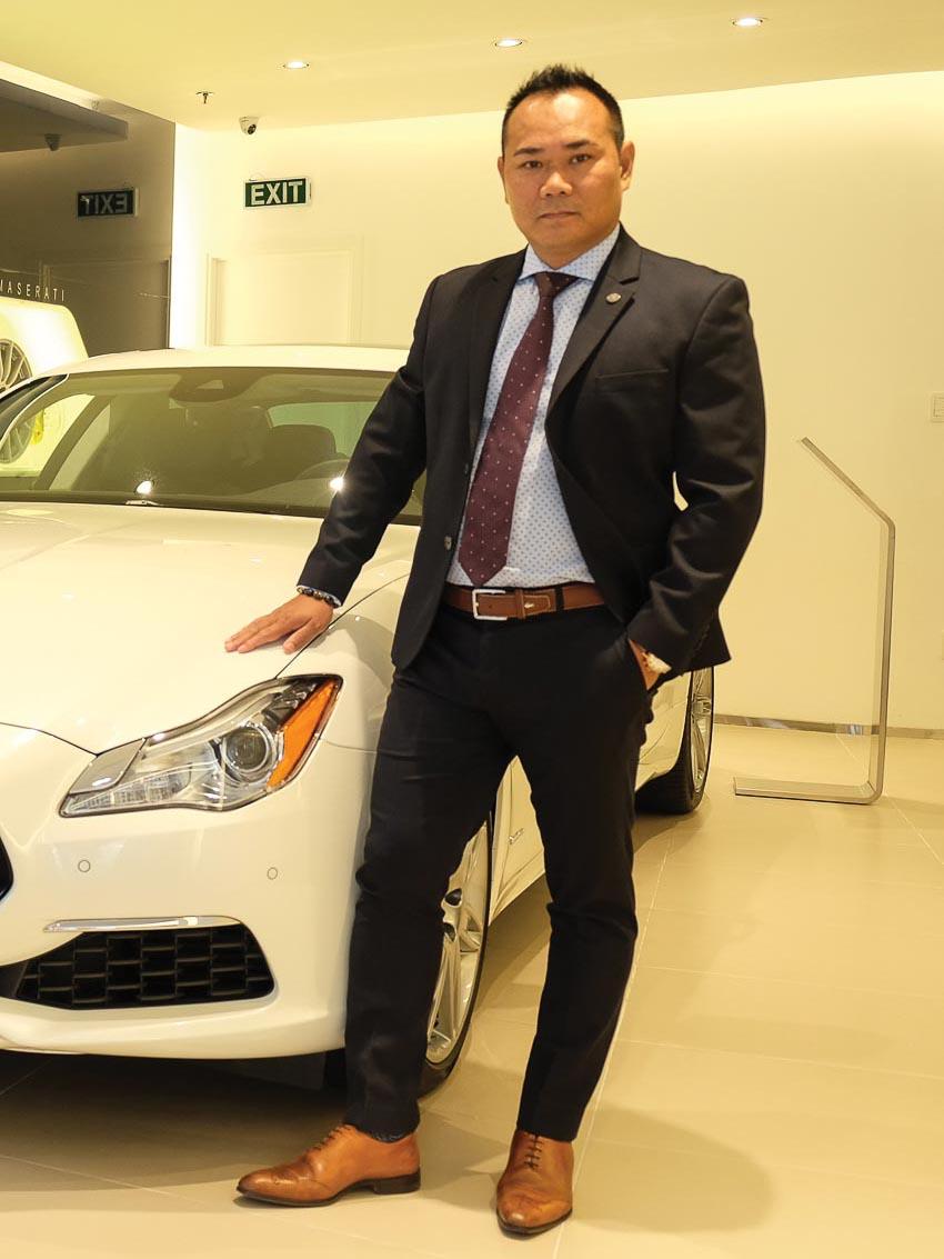 Ông Nguyễn Văn Vinh – nhà phân phối Maserati tại Việt Nam