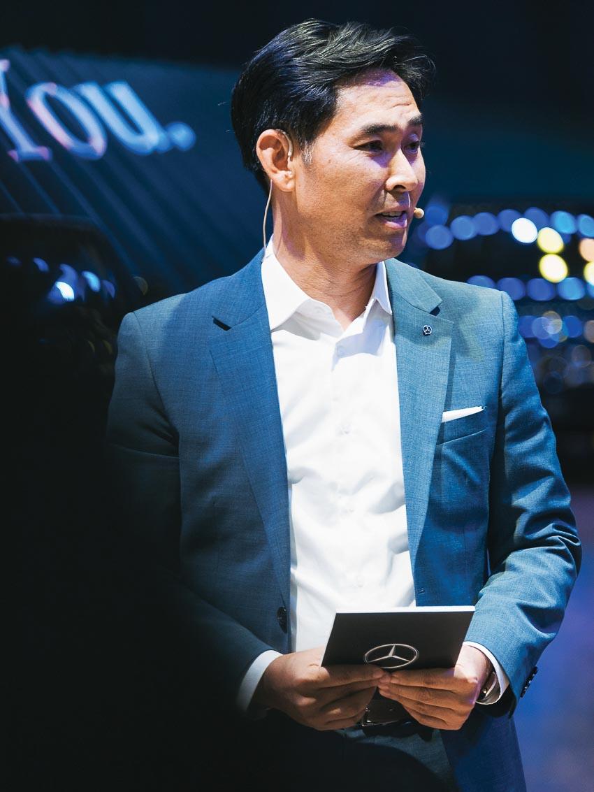 Ông Choi Duk Jun – Tổng giám đốc Mercedes-Benz Việt Nam