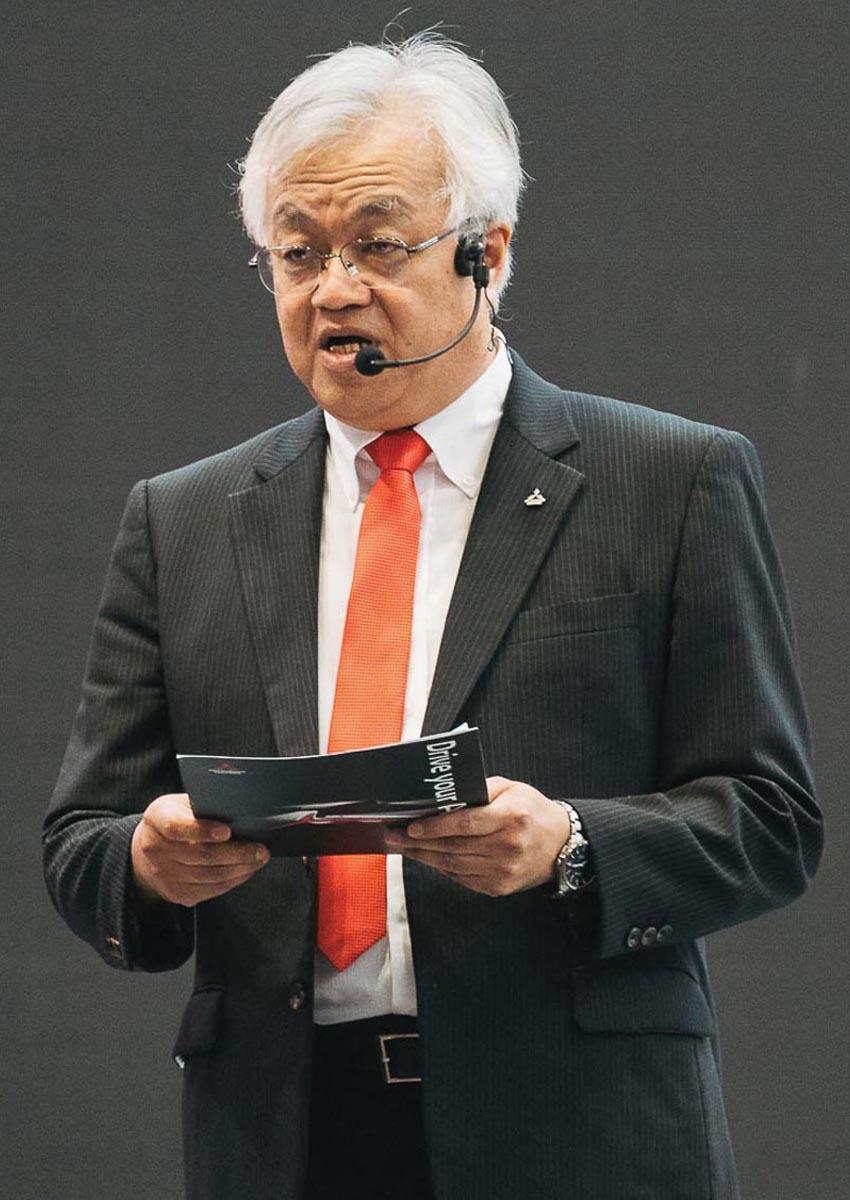 Ông Kenichi Horinouchi – Tổng giám đốc Mitsubishi Motors Việt Nam