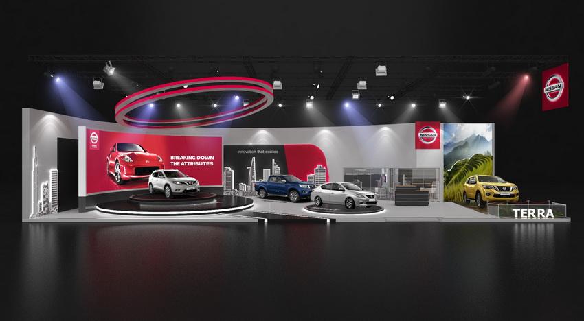 Khu trưng bày Nissan tại Vietnam Motor Show 2018