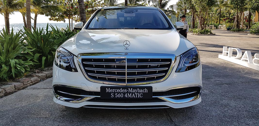 MBV đã trưng bày mẫu xe Mercedes-Maybach S 560 4MATIC 2018 1