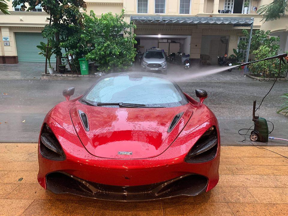 siêu xe McLaren 720S đã có mặt tại Sài thành