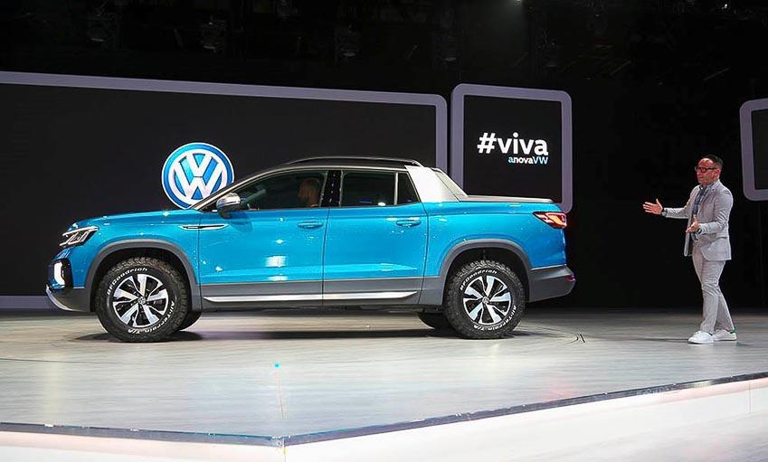 Thân xe Volkswagen Tarok Concept